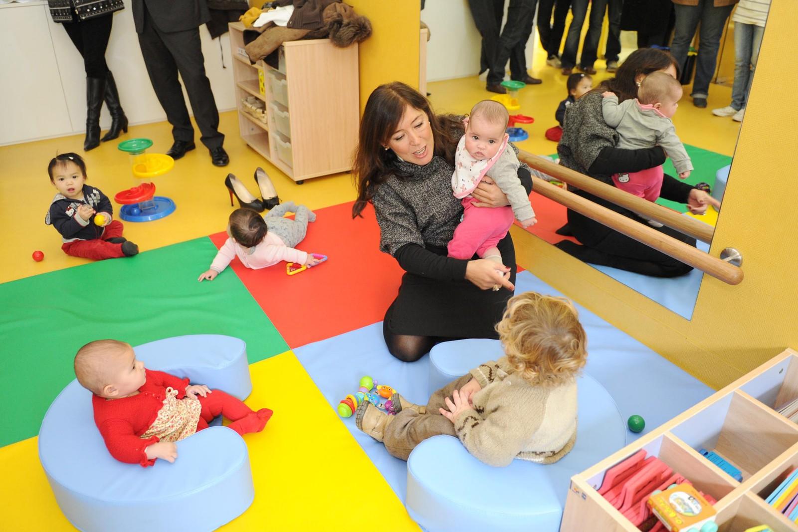 Abre sus puertas la nueva escuela infantil a gali a azul for Plano escuela infantil