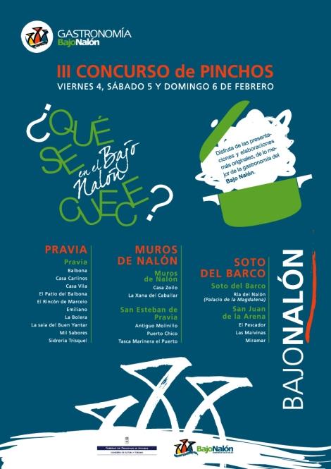 Cartel Concurso de Pinchos 2011