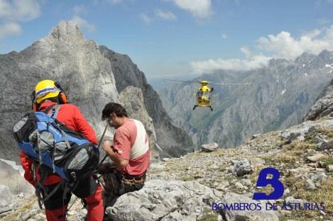 Rescate montaña Cangas de Onís