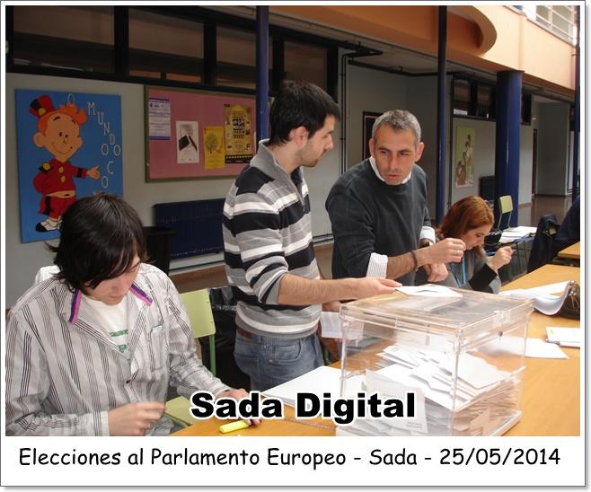 elecciones europeas sada - sada digital - 25 de mayo 2014 - nms