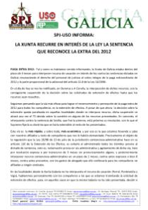 COMUNICADO CASACION EXTRA 2012_1