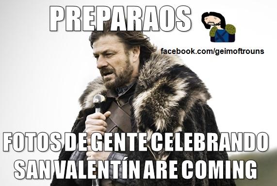 Imagen graciosa San valentín