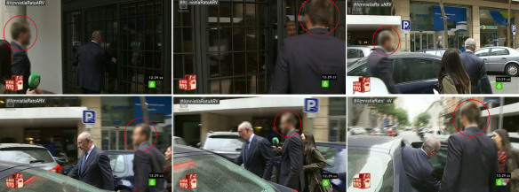 Rato sigue teniendo escolta policial y coche oficial que for Ministerio del interior pagina oficial