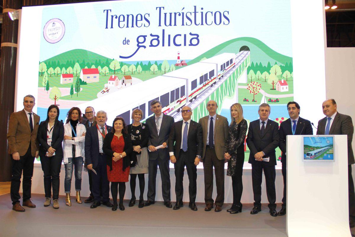 Los trenes turísticos de Galicia incorporan dos nuevas rutas que potenciarán el turismo urbano