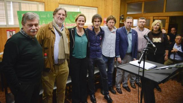 Presentación de la Plataforma Jaén con Pedro.