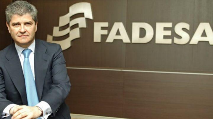 El empresario inmobiliario Fernando Martín, cuando era presidente de Martinsa Fadesa.