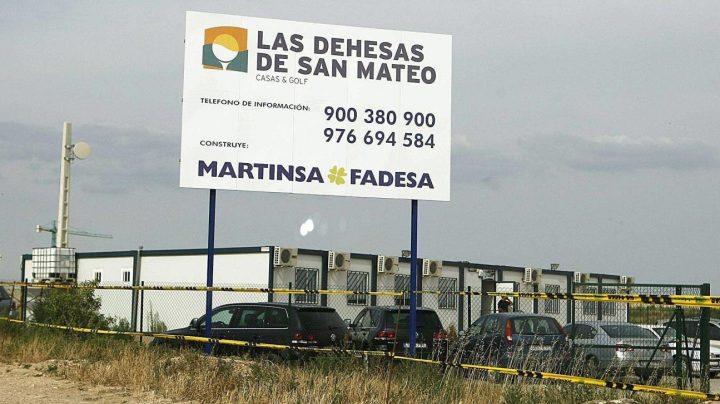 Promoción de viviendas de Martinsa Fadesa, en proceso de liquidación.