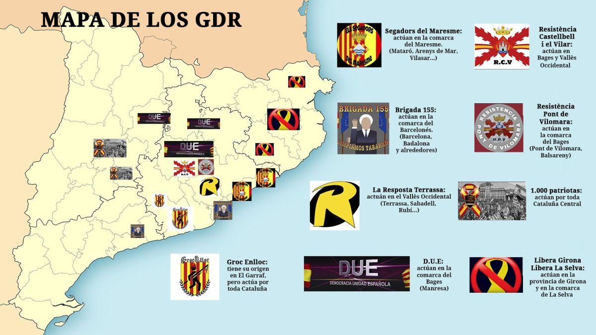 """Informes del CNI alertan del """"creciente riesgo"""" de enfrentamiento civil en Cataluña: los Comités de Defensa de la República (CDR) habían implantado su particulardictaduraen las calles.  Pero cada vez más españoles catalanes se han lanzado a la defensa de su país, saliendo a las calles y frenando el avance de los supremacistas CDR / La valiente Resistencia que opera en Cataluña, y que ha formado los Grupos de Defensa y Resistencia (GDR) ante la inoperancia de las autoridades españolas: su número aumenta de día en día - OKDiario y VÍDEOS"""