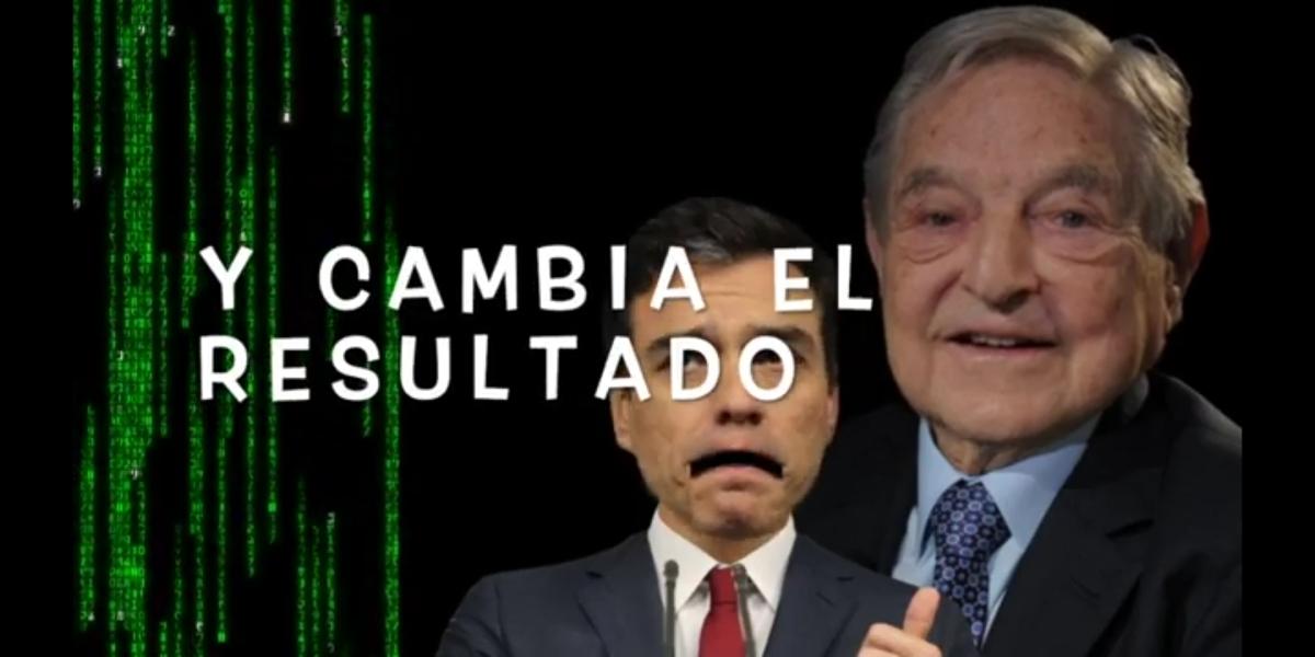 """Ver """"Vuelve SOROS vuelve la trampa, el pucherazo,fraude electoral,tongo regalo al PSOE, ¿que opinas?"""" en YouTube"""