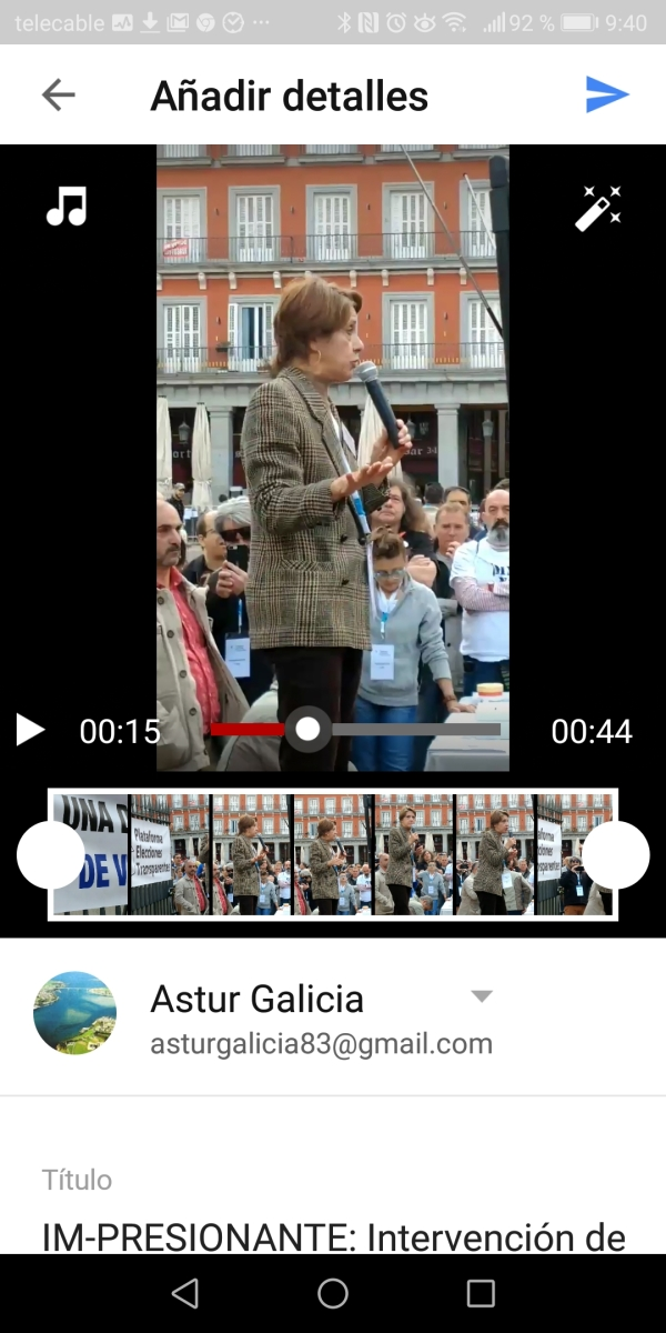"""Ver """"Movimiento por España presentará una denuncia ante el Supremo por el pucherazo 28A"""" en YouTube"""